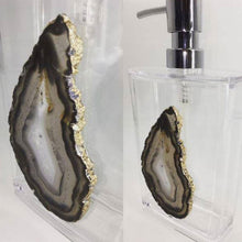 Load image into Gallery viewer, Large Agate Soap Dispenser