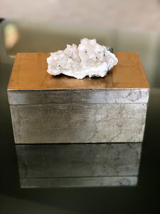 Gold Geode Adorned Box