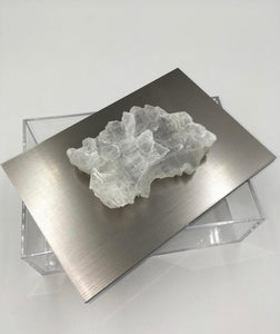 Silver Speciality Geode Box