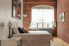Interior Design - Loft Style Bedroom