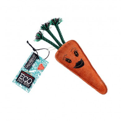 Candice The Carrot Eco Dog Toy
