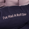 Cosy Rose Slogan Dog Bed
