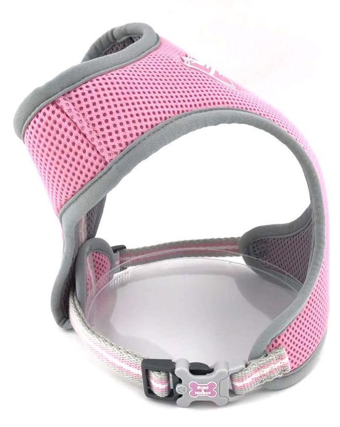 Peppercorn Pink Dog Harness