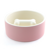 Cosy Rose Slow Feed Dog Dining Bowl
