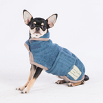 Ruff & Tumble Dog Drying Coat - Blue