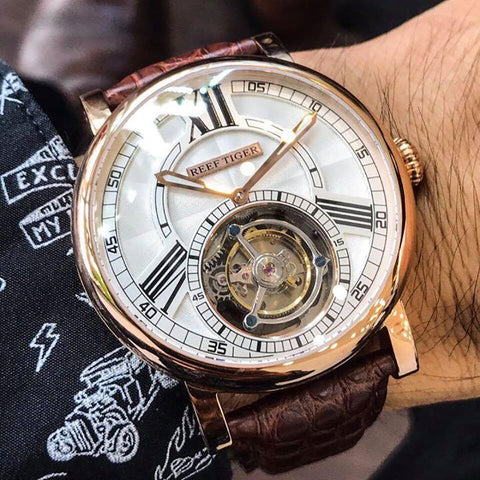 Bryce Eugen Tourbillon Automatic Watch