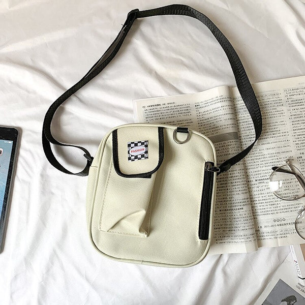 Small Canvas Crossbody Bag