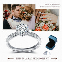 Load image into Gallery viewer, Moissanite Engagement Ring
