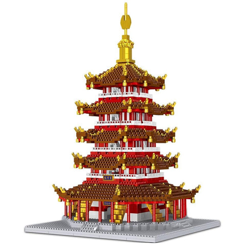 3235pcs Leifeng Tower 3D Model Building