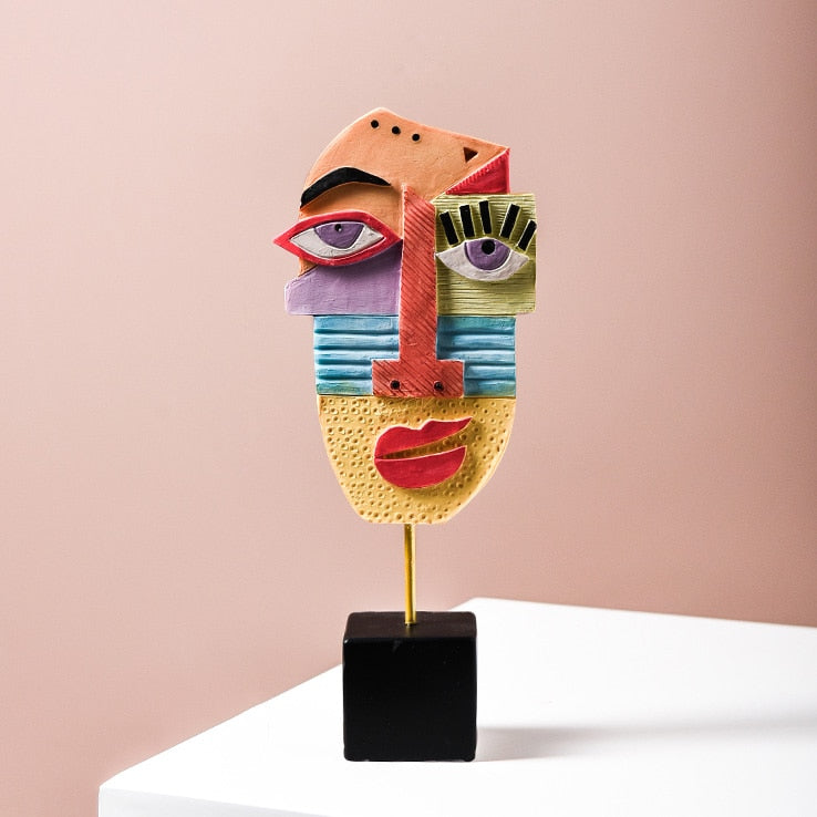 Traditional Abstract Figurines Decoration