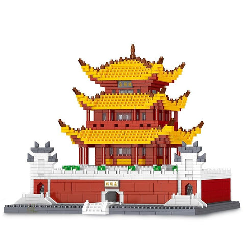 2600pcs Yueyang Tower 3D Model Building