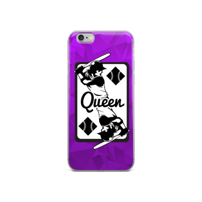 Queen of Diamonds iPhone Case