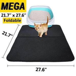 2019 New Double Layer Larger Size Cat Litter Mat