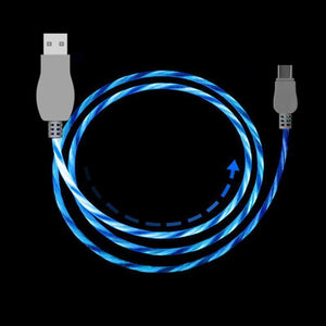 "COOL LED ""LIGHT FLOW"" USB CABLE"