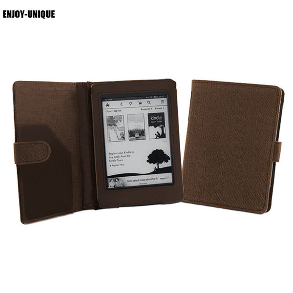 Book it, Danno! Natural hemp cover case for Amazon Kindle Paperwhite