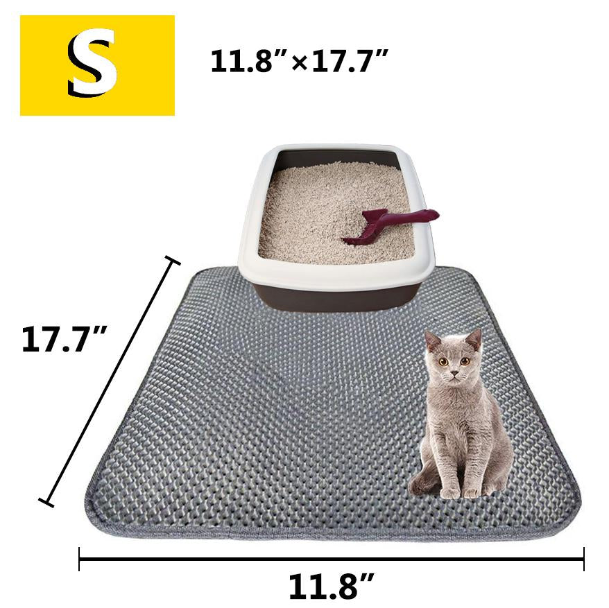 70% Off Anniversary Sale | 2019 Arelia Pro New Double Layer Larger Size Cat Litter Mat