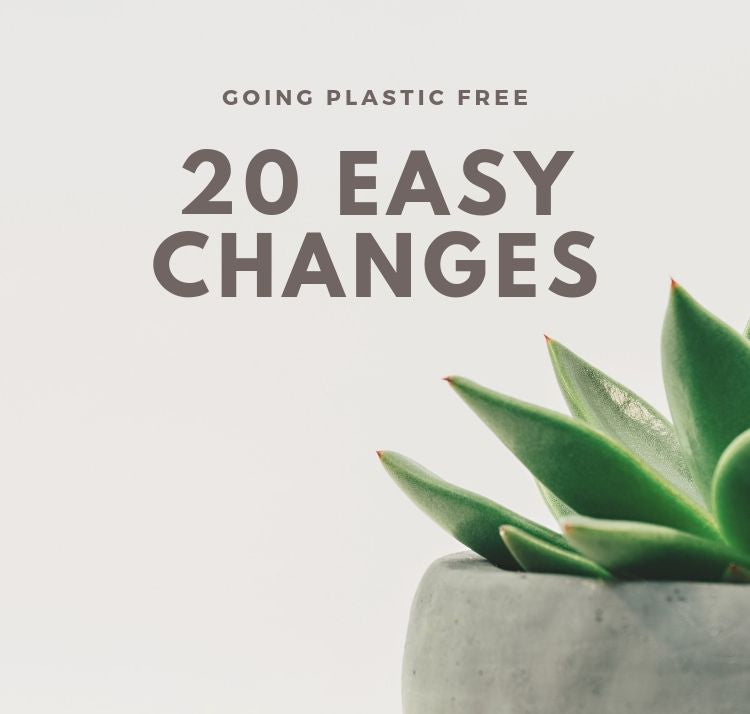 GOING PLASTIC FREE: 20 EASY CHANGES I MADE