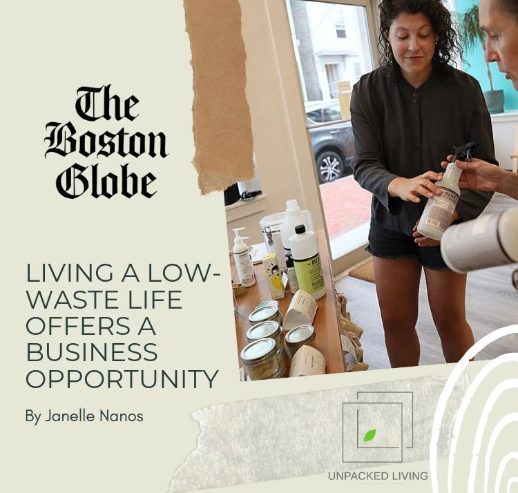 BOSTON GLOBE: Living a low-waste life offers a business opportunity