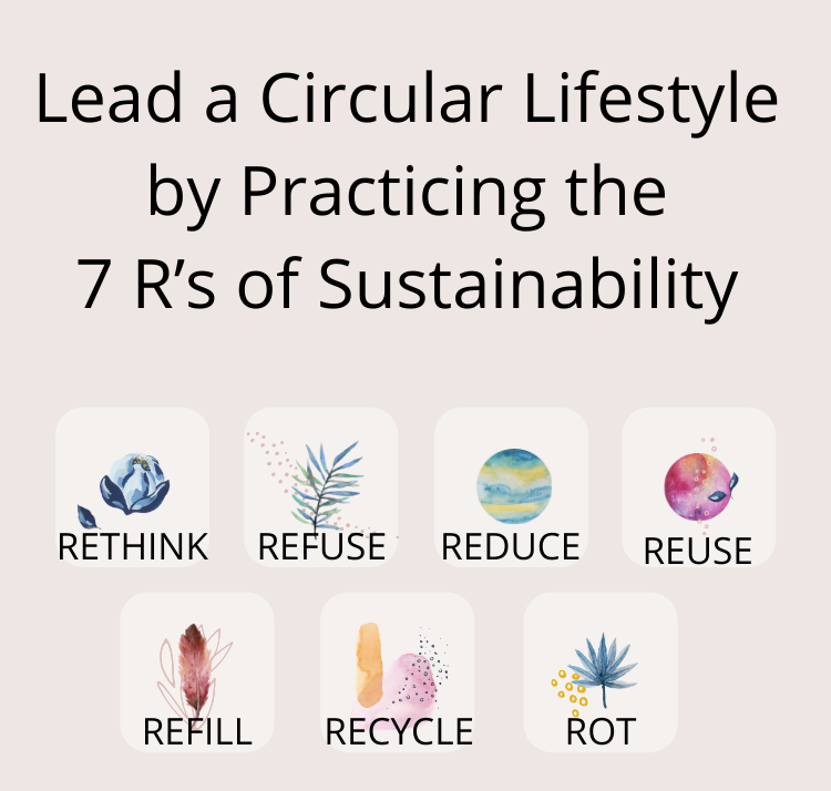Lead a Circular Lifestyle by Practicing the 7 R's of Sustainability