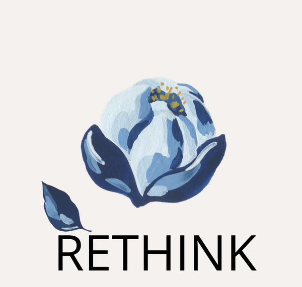 Rethink, The R's of sustainability