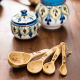 Natural Coffeewood Measuring Spoon Set