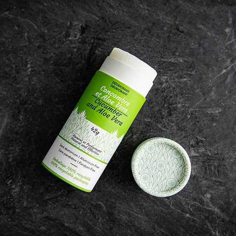 Natural deodorant – Cucumber and Aloe Vera