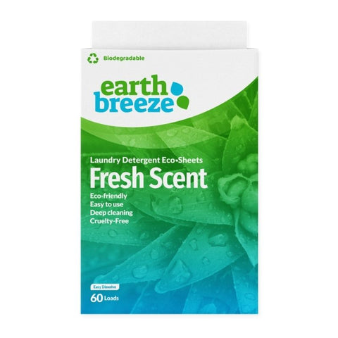 Laundry Detergent Eco-Sheets - Fresh Scent