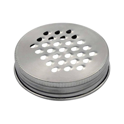 Grater / Shredder Lid for Regular Mouth Mason Jars