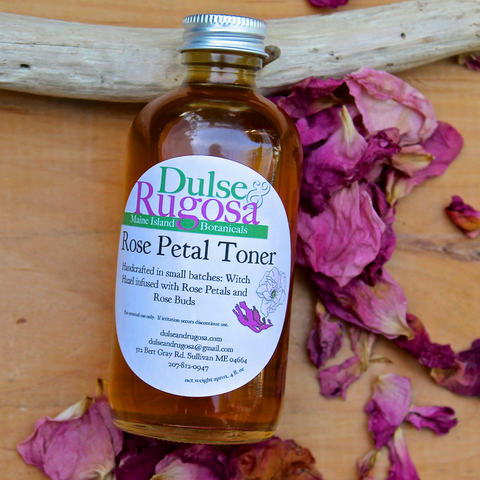Rose Petal Toner 4 oz