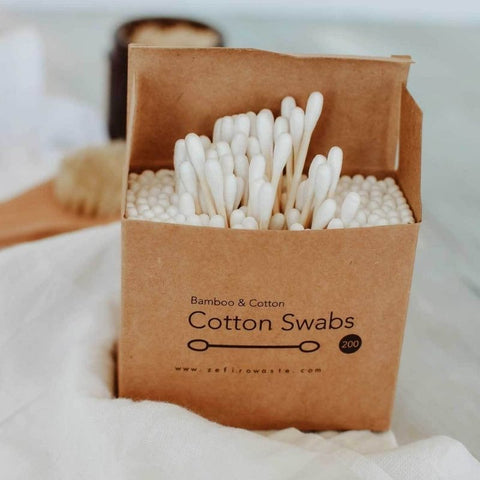 Bamboo and cotton Swabs (200 Count)