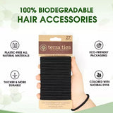 Terra Ties Organic & Biodegradable Hair Ties