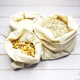 Reusable Produce Bags Organic Cotton - Set Of 9
