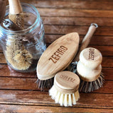 Bamboo and Sisal Cleaning Brush