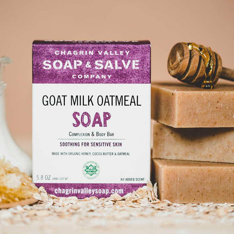 Goat Milk Oatmeal Bar Soap