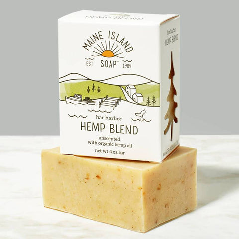Bar Harbor Hemp Blend Soap