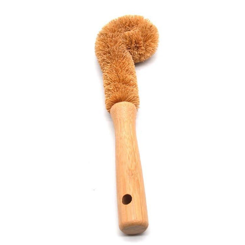 Cup/Dish Bamboo Coconut Brush