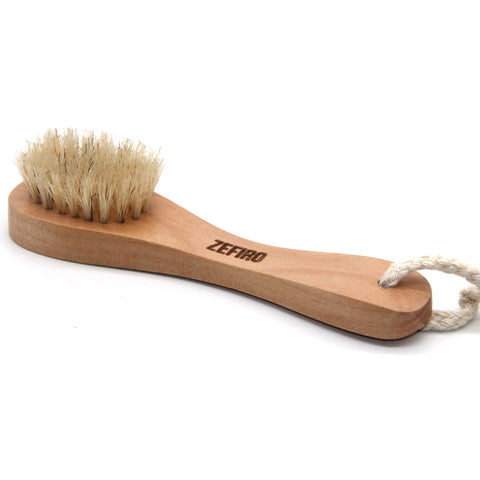 Natural Wooden Face Brush 100% Compostable