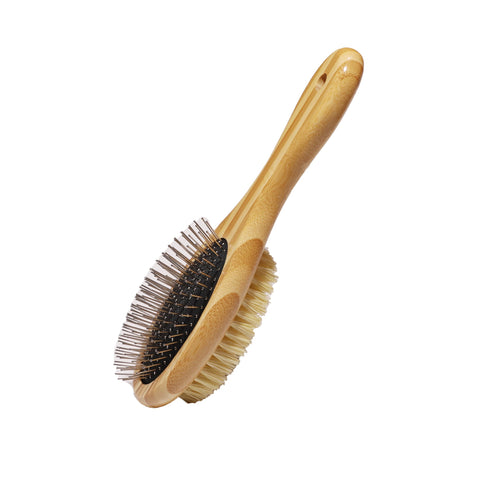 Plastic-free Dog Brush