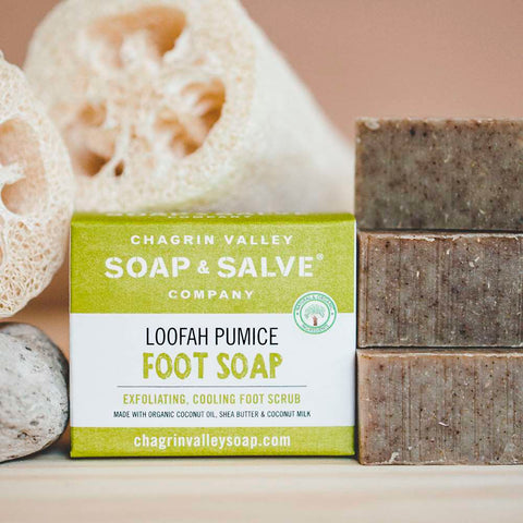 Pumice foot scrub - Chagrin Valley Soap