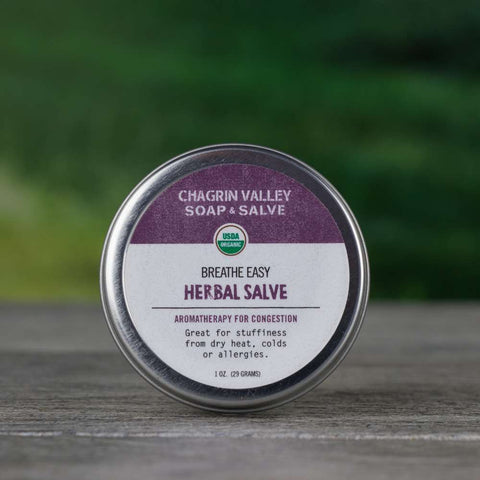 Breathe Easy Salve 1 oz - Sinus And Congestion Relief