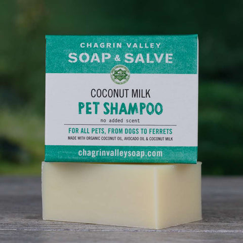 Creamy Coconut Milk Pet Bar Shampoo