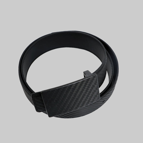 Wood and York Black Carbon Fiber Belt - Wood and York