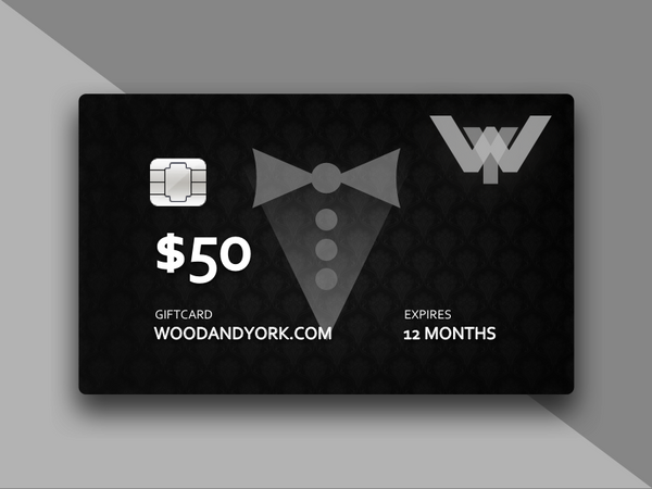 WOOD & YORK FORMAL GIFT CARD - Wood and York