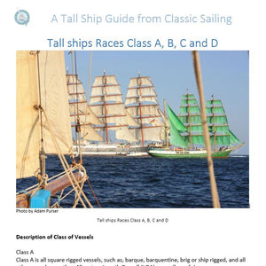 Tall Ship Guide and Logbook - Hardback Gift Version