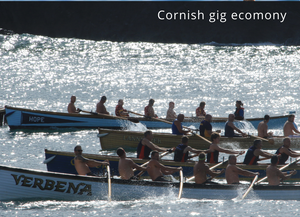 Greetings Card - Cornish Gig Economy