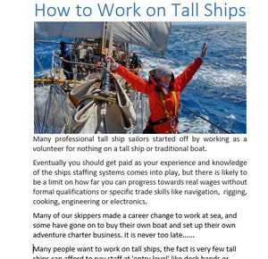 Tall Ship Guide and Logbook - Paperback