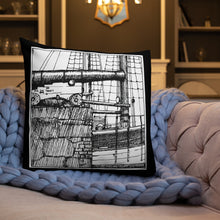 Load image into Gallery viewer, Canon cushion design by Toni Knights