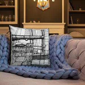 Canon cushion design by Toni Knights