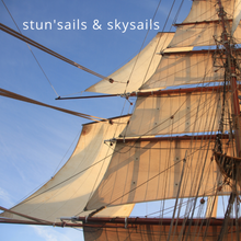 Load image into Gallery viewer, Greetings Card - Stun'sails & Skysails