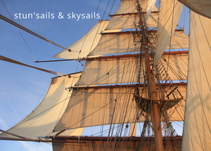 Greetings Card - Stun'sails & Skysails